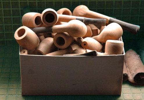 Pipe en bois fabriquée à Saint Claude