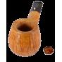 pipe  L'Anatra fait main 2 oeufs Pipe droite