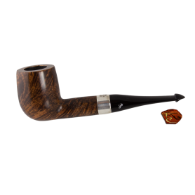 Peterson Pipe Brown Sterling Silver 106