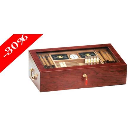 Cave à cigares vitrée 17101
