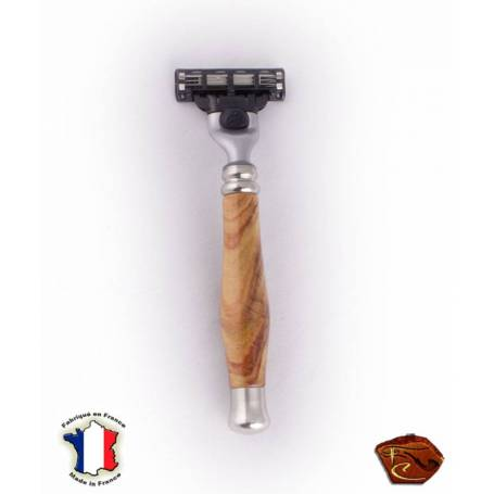 "Gillette Wooden Razor ""Bois de Rose"""