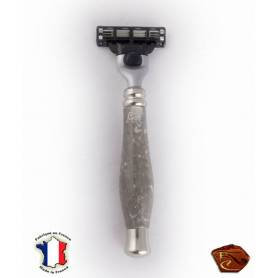 Gillette razor in marble from Arudy