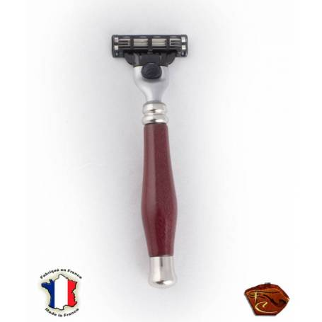 "Gillette wooden razor ""Amaranth""."