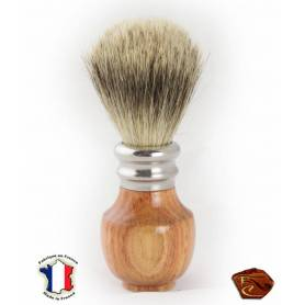 Shaving Brush in Rosewood: French artisanal manufacture