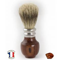 "Shaving brush in ""Bois d Violette"""
