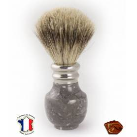Shaving brush in Marble from Arudy