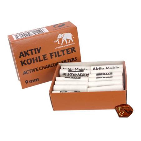 filtres Charbon actif 9 mm pour pipe
