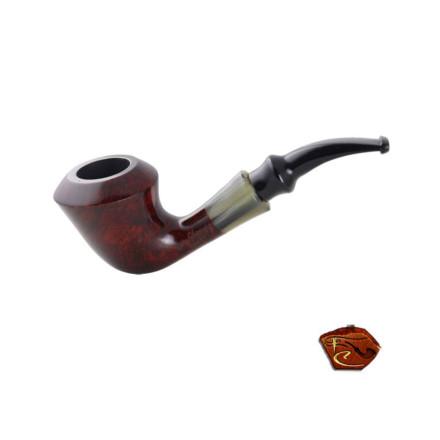Butz Choquin Star Pipe C: tobacco pipe, bent shape