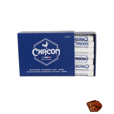 Filtres Chacom 9 mm Charbon actif.