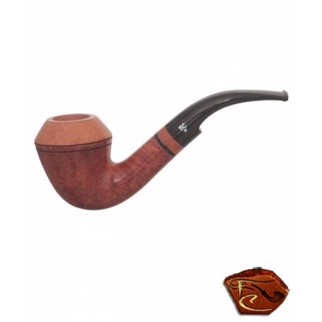 Butz Choquin Pipe 2007: tobacco pipe, bent shape, 9mm filter