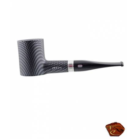 Chacom straight Pipe Carbone 944: french pipe from Saint Claude