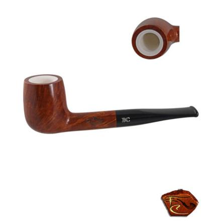 Pipe Butz Choquin Cappadoce 1601: pipe droite, foyer écume, filtre 9mm.