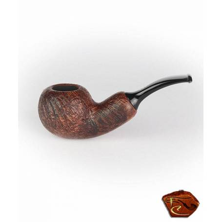 Chacom Pipe Reverse Calabach Sandblast noire