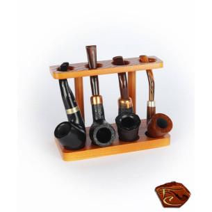 Porte Pipes nat (4 pipes)