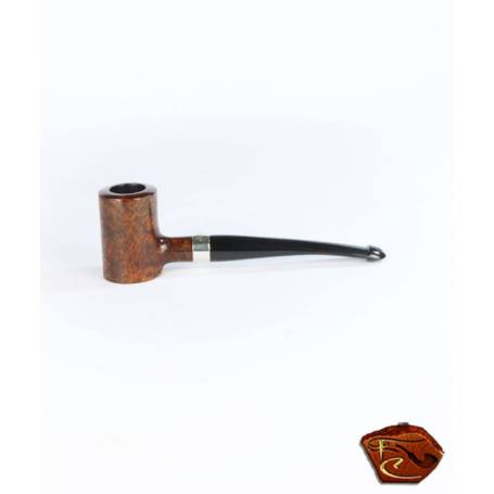 Pipe Peterson Smooth Nickel Mounted Tankard P-Lip