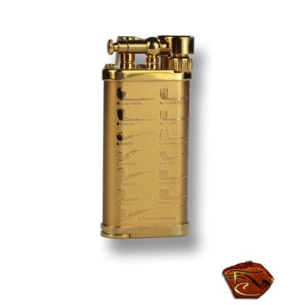Briquet à pipe Corona Old Boy 64-7415-doré