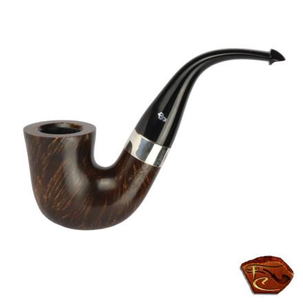 Peterson Sherlock Holmes Pipe  Ebony Original P-Lip