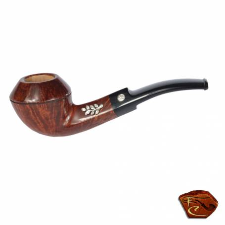 Mastro de Paja briar smooth Pipe : hand made pipe.