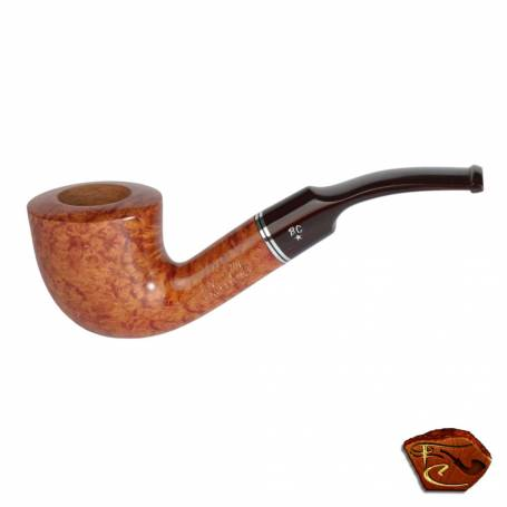 Butz Choquin Excellence Pipe : tobacco pipe, bent shape, 9mm filter