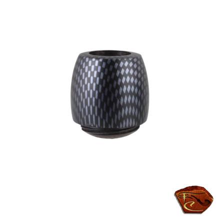 Foyer (bol) pour pipe Falcon carbone 28022-1